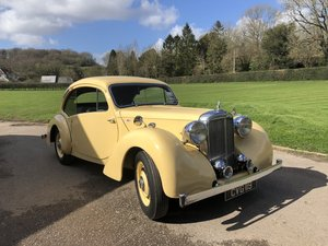 1947  Alvis Duncan Coupe - Live Video Walkround Available