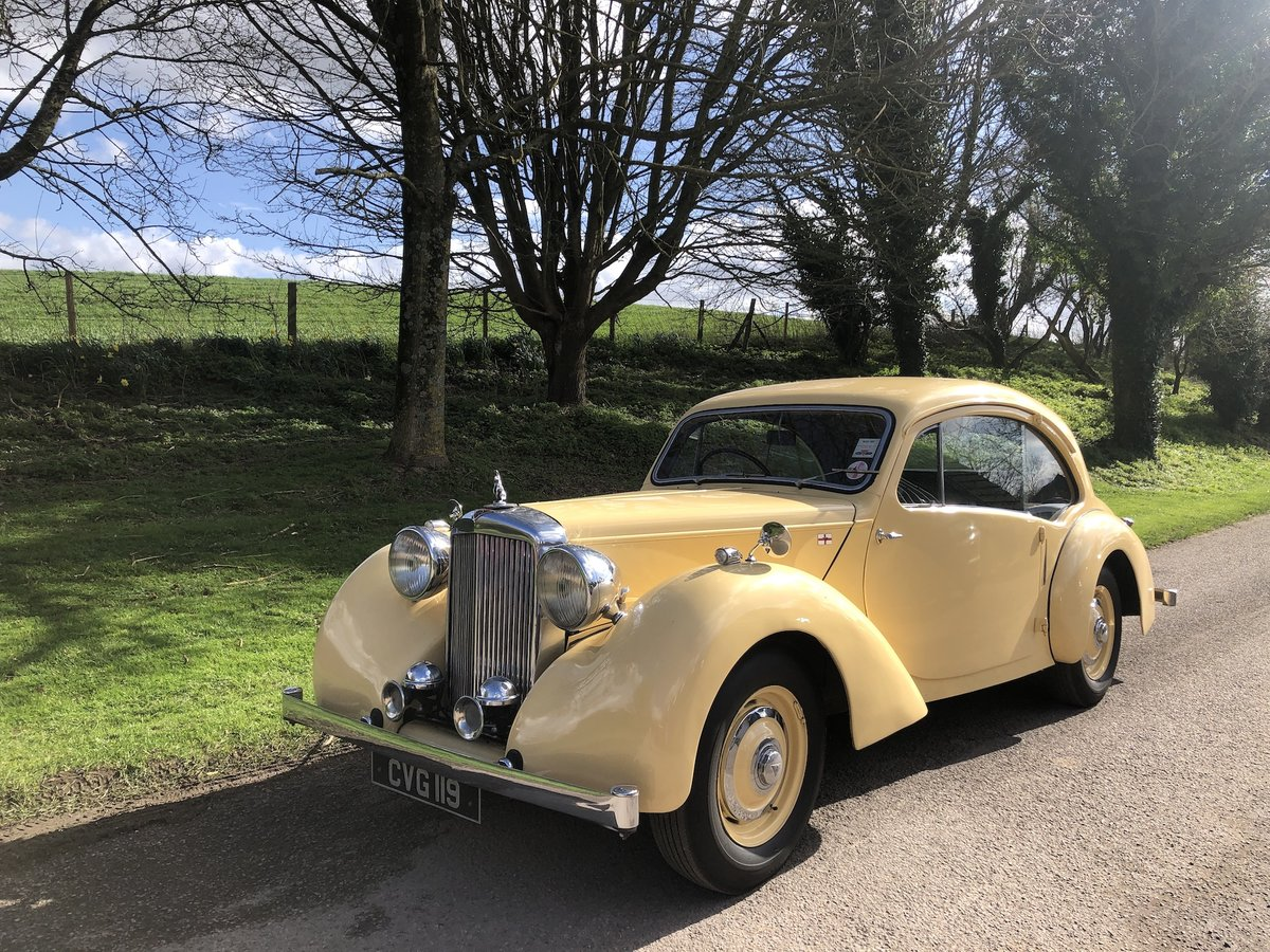 1947 Alvis Duncan Coupe  For Sale (picture 8 of 24)