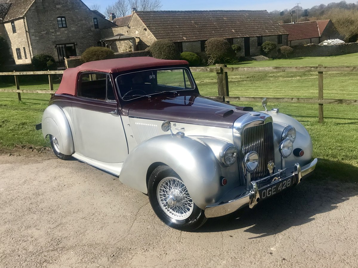 1955 ALVIS TC21 GREYLADY CONVERTIBLE For Sale (picture 2 of 6)