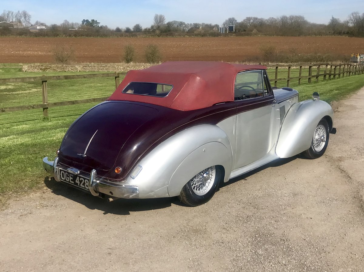 1955 ALVIS TC21 GREYLADY CONVERTIBLE For Sale (picture 4 of 6)