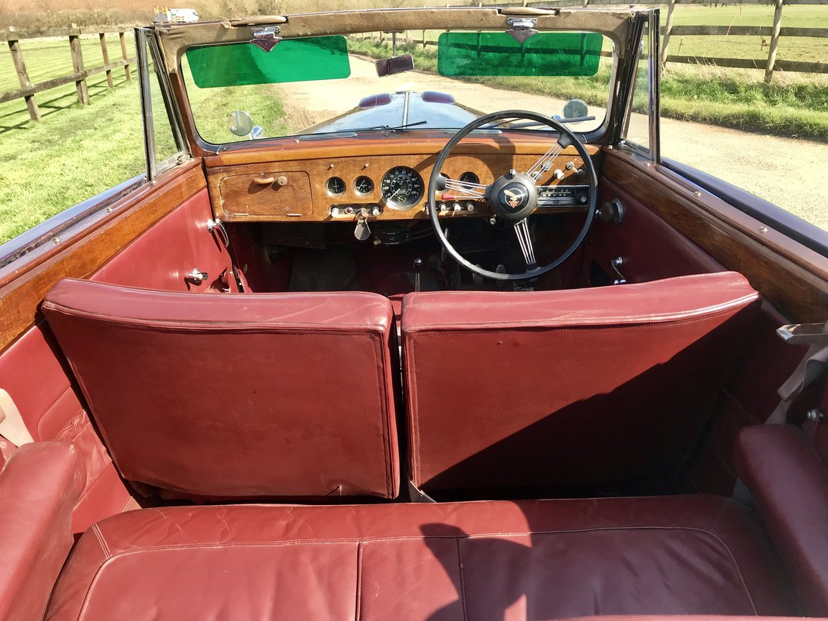 1955 ALVIS TC21 GREYLADY CONVERTIBLE For Sale (picture 6 of 6)