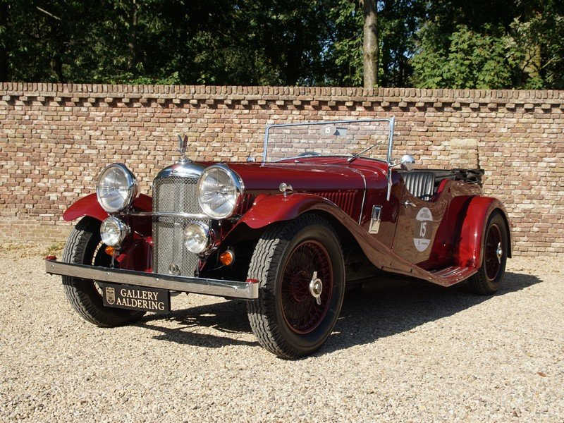 1935 Alvis Speed 20 Open Tourer 6-cylinder SD engine, mechanicall For Sale (picture 1 of 6)