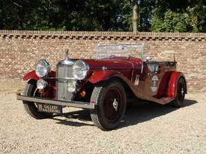 1935 Alvis Speed 20 Open Tourer 6-cylinder SD engine, mechanicall
