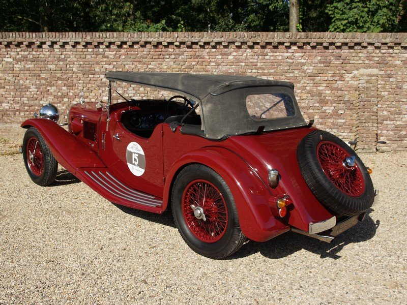 1935 Alvis Speed 20 Open Tourer 6-cylinder SD engine, mechanicall For Sale (picture 2 of 6)