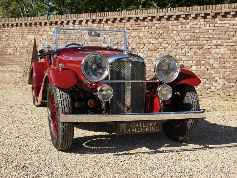 1935 Alvis Speed 20 Open Tourer 6-cylinder SD engine, mechanicall For Sale (picture 5 of 6)