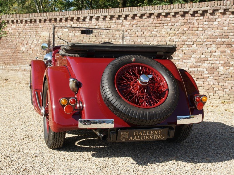 1935 Alvis Speed 20 Open Tourer 6-cylinder SD engine, mechanicall For Sale (picture 6 of 6)