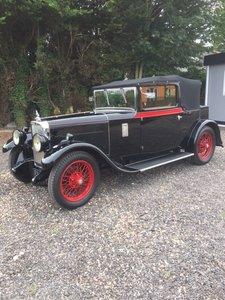 1930 Alvis Silver Eagle 16.9 Drophead Coupe