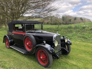 1930 Alvis Silver Eagle 16.95 Clubman DHC