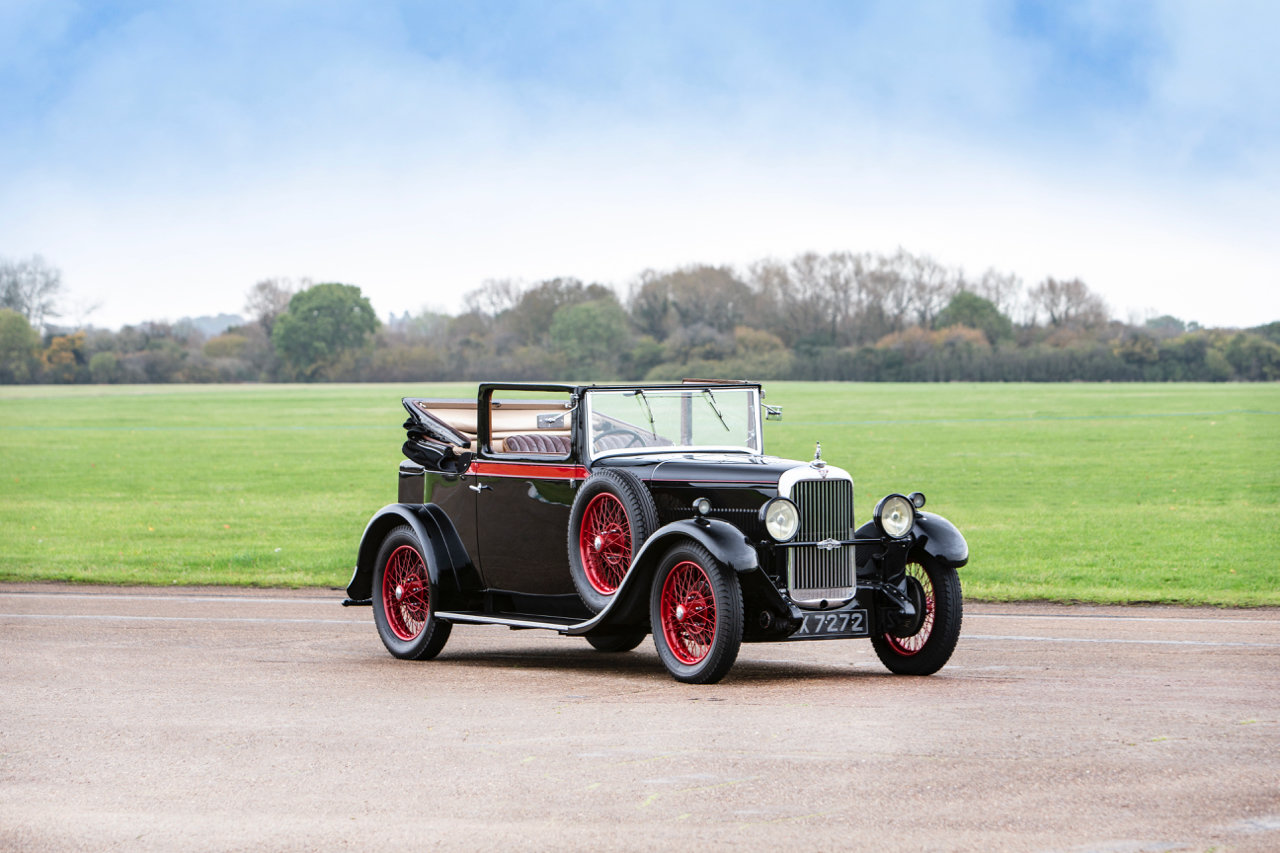 1930 Alvis Silver Eagle 16.95 Drophead Coupe  For Sale (picture 2 of 24)