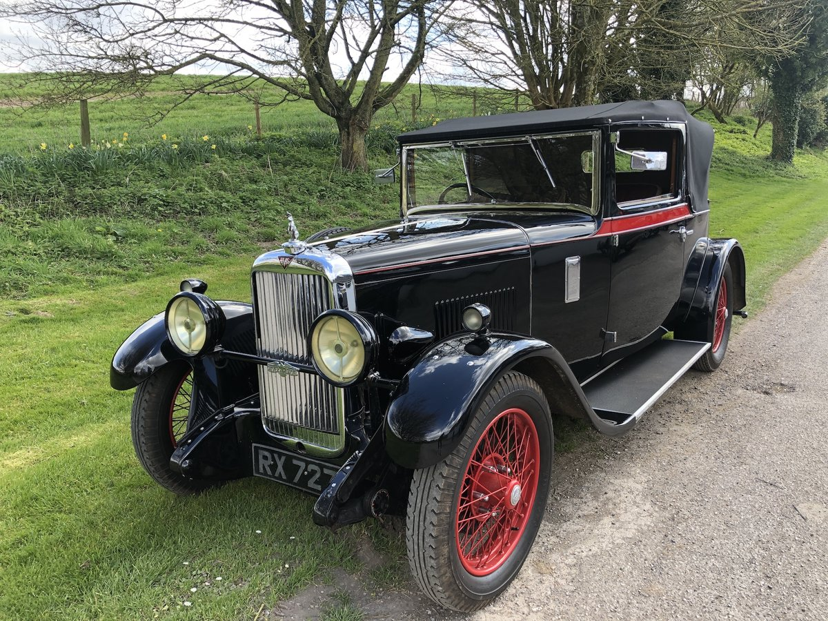 1930 Alvis Silver Eagle 16.95 Drophead Coupe  For Sale (picture 4 of 24)