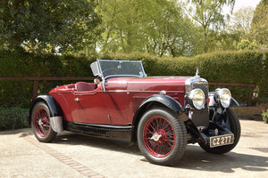 Picture of 1932 Alvi 12/60 TL Beetleback by Carbodies  SOLD