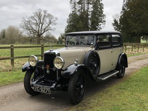1931 Alvis 12/50 TJ Atlantic Saloon  SOLD