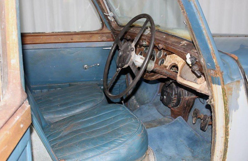 1938 Alvis Silver Crest Saloon for Restoration SOLD (picture 3 of 6)