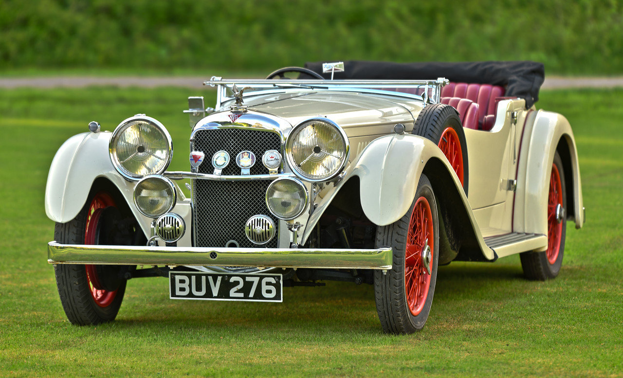 1934 Alvis Speed 20 SC Vanden Plas tourer For Sale (picture 1 of 6)