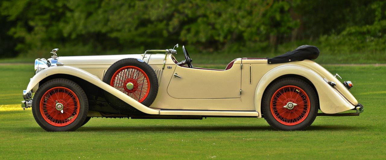 1934 Alvis Speed 20 SC Vanden Plas tourer For Sale (picture 2 of 6)