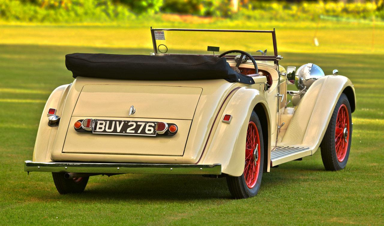 1934 Alvis Speed 20 SC Vanden Plas tourer For Sale (picture 3 of 6)