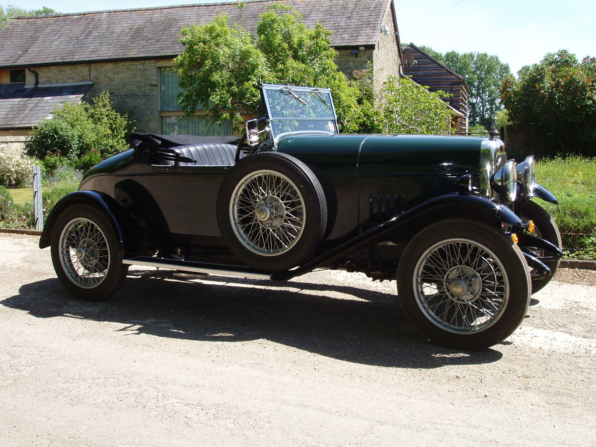 1928 Alvis 14.75 Beetleback For Sale (picture 1 of 6)