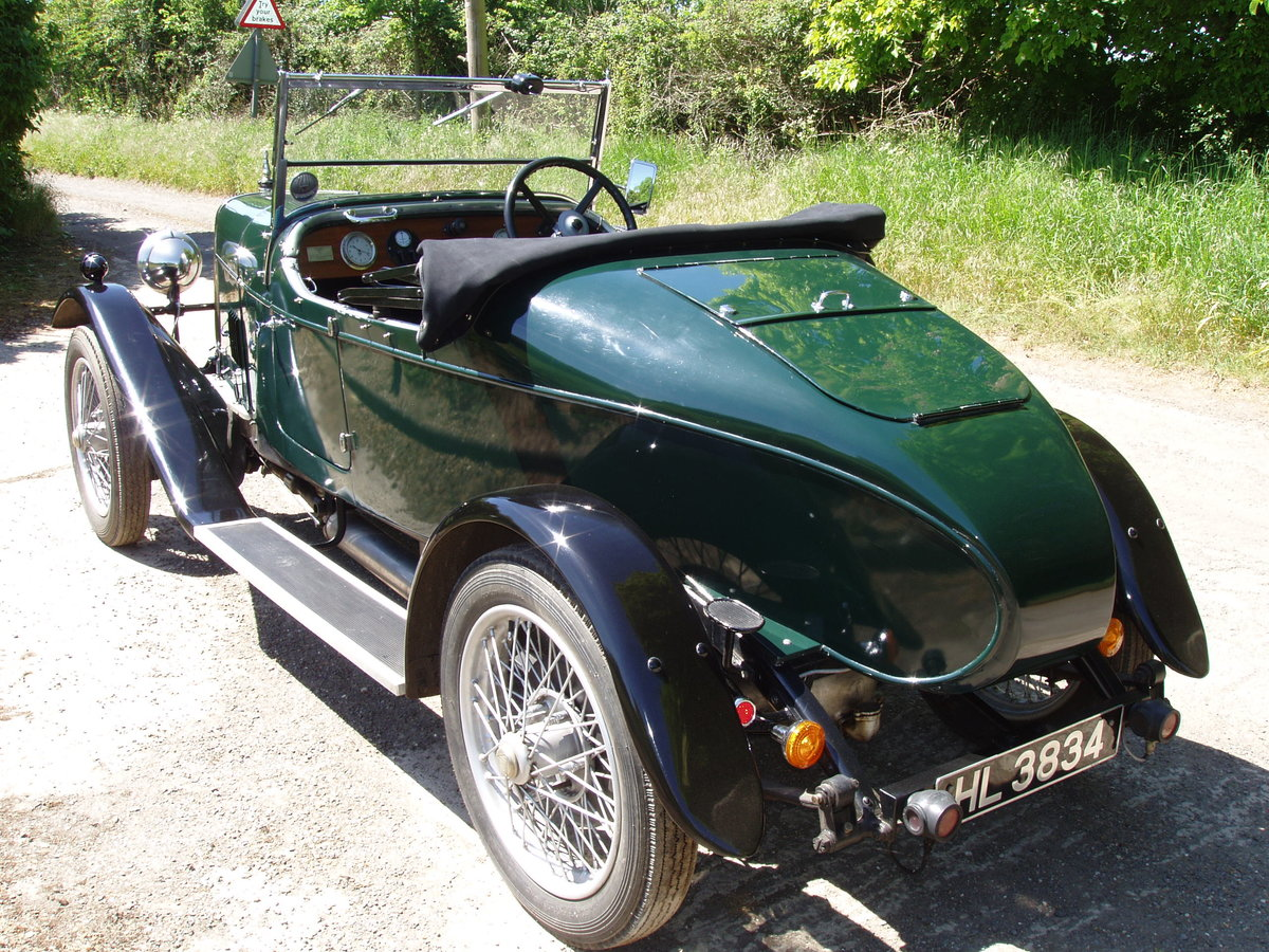 1928 Alvis 14.75 Beetleback For Sale (picture 2 of 6)