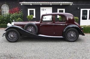 1934 Alvis Speed 20 SC SC Charlesworth Saloon