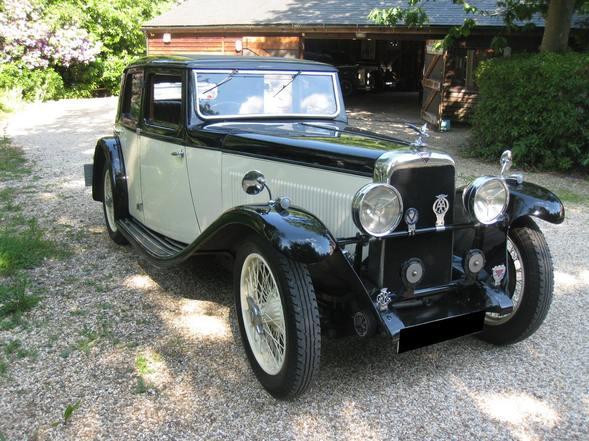 1933 Alvis SA 16.95 Sports Saloon For Sale (picture 1 of 6)