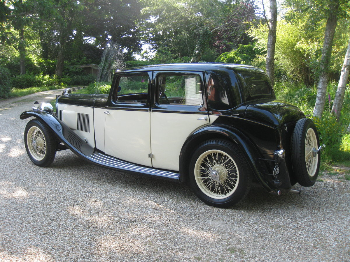 1933 Alvis SA 16.95 Sports Saloon For Sale (picture 2 of 6)