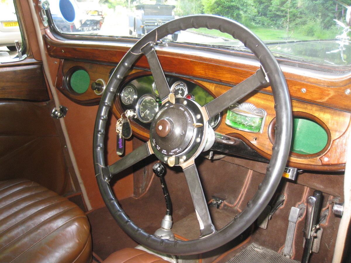 1933 Alvis SA 16.95 Sports Saloon For Sale (picture 3 of 6)