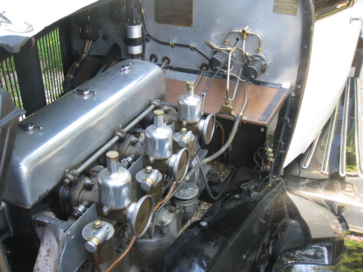 1933 Alvis SA 16.95 Sports Saloon For Sale (picture 6 of 6)