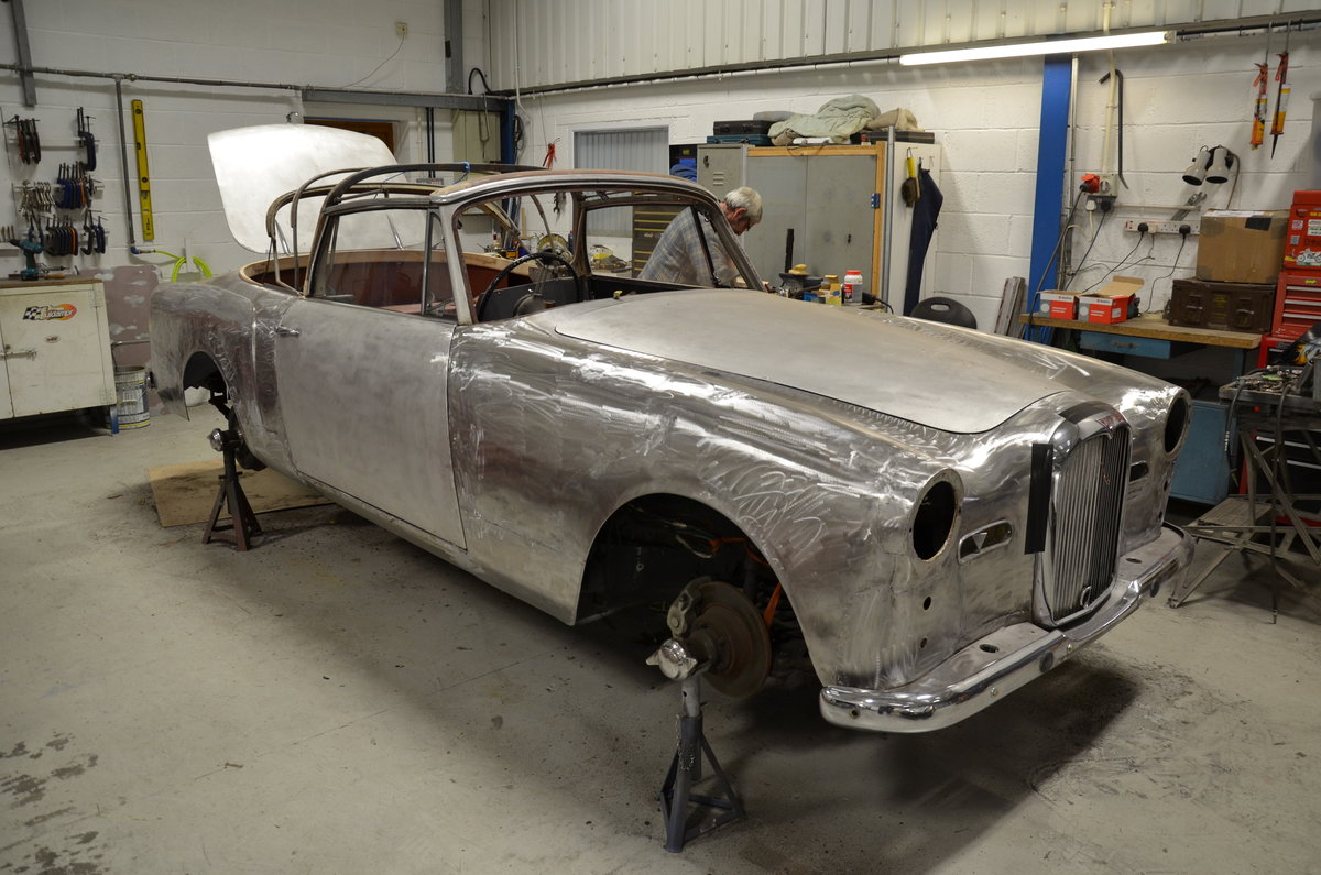 1961 Alvis TD 21 Series 1 DHC - restoration project For Sale (picture 1 of 1)