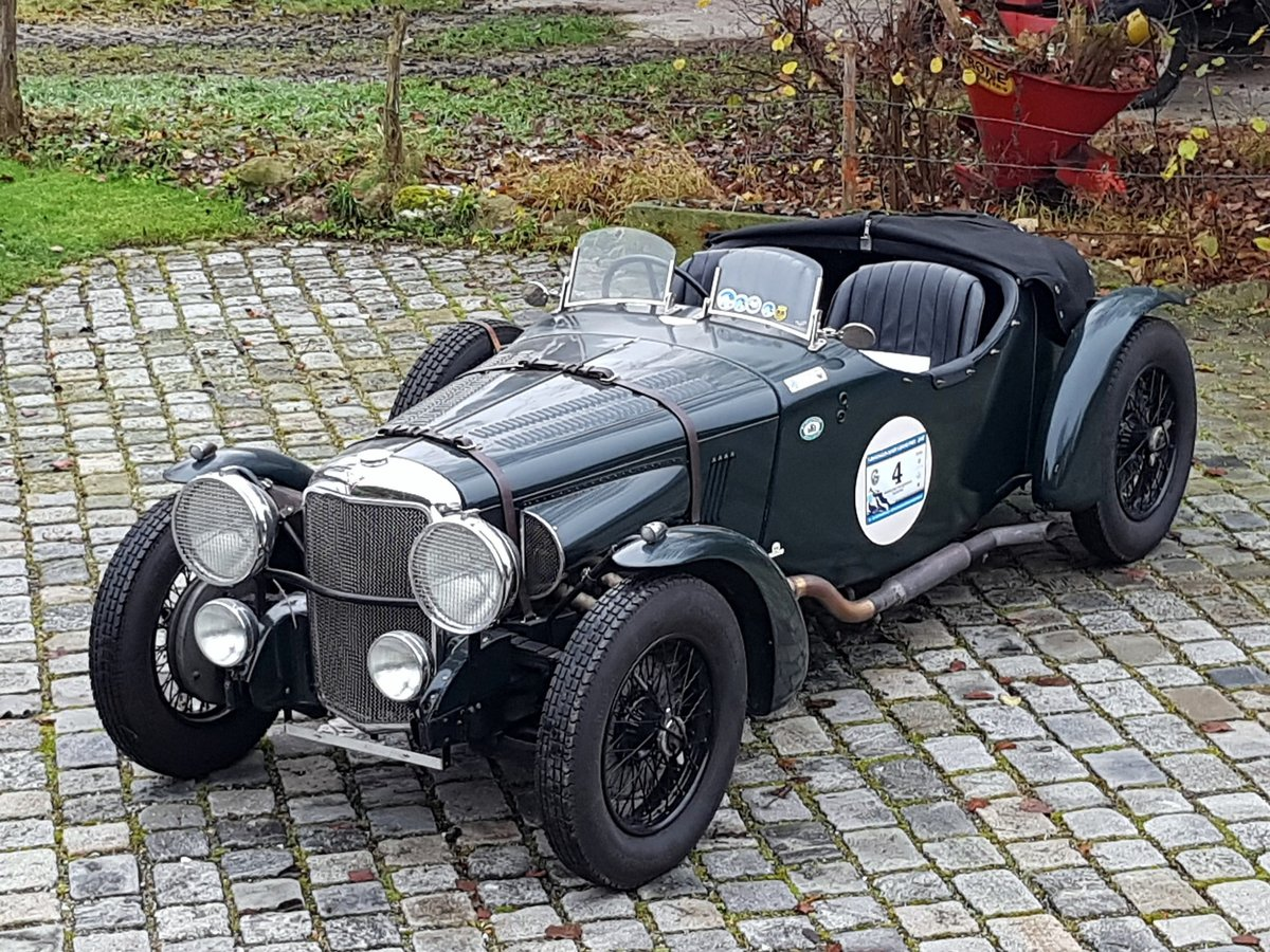 1934 Alvis Speed 20 SB, Matching Numbers, Strong Car For Sale (picture 1 of 6)