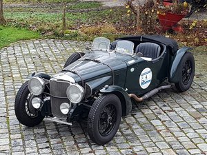 1934 Alvis Speed 20 SB, Matching Numbers, Strong Car