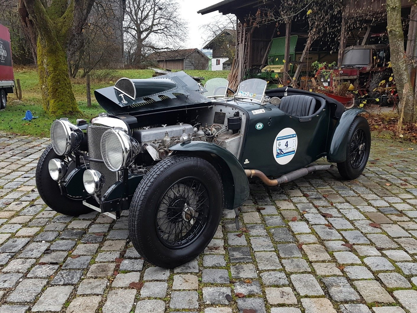 1934 Alvis Speed 20 SB, Matching Numbers, Strong Car For Sale (picture 4 of 6)