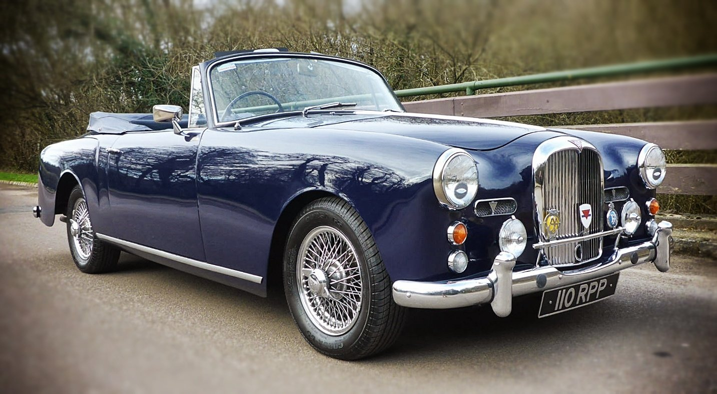 1961 Alvis TD21 DHC by Park Ward, Manual SOLD (picture 1 of 6)