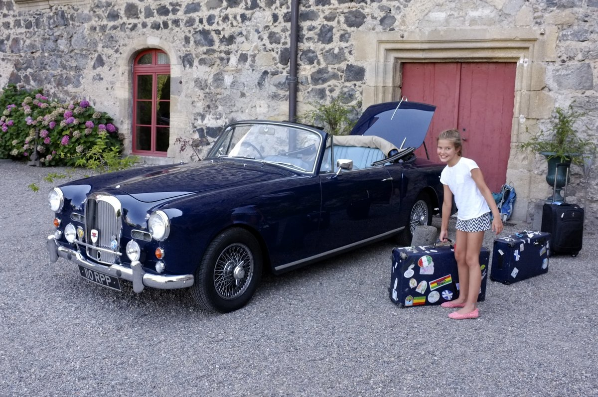 1961 Alvis TD21 DHC by Park Ward, Manual SOLD (picture 3 of 6)