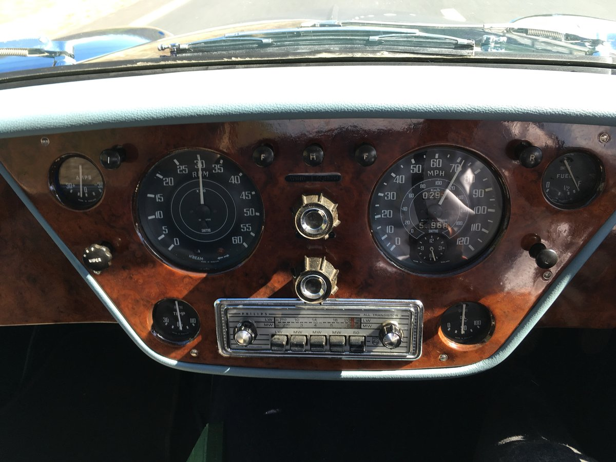 1961 Alvis TD21 DHC by Park Ward, Manual SOLD (picture 4 of 6)