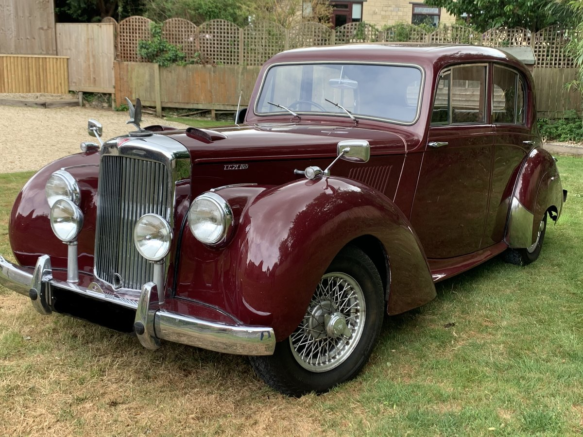 1955 Alvis TC21/100 Grey Lady SOLD (picture 1 of 6)