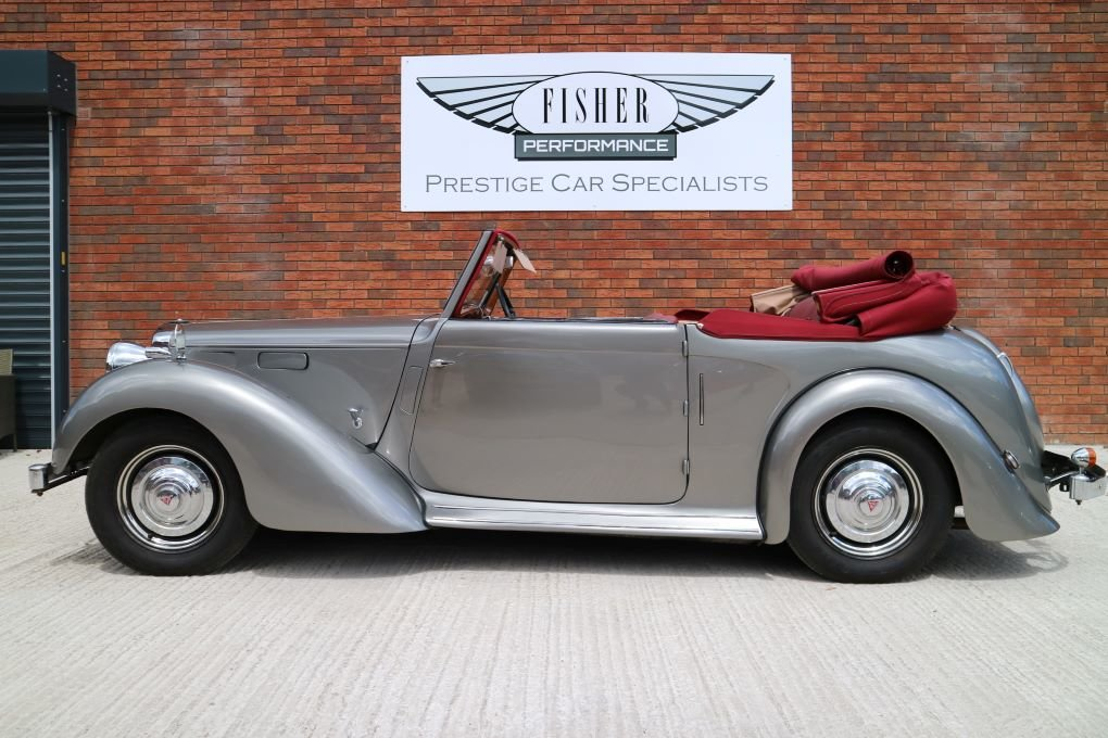 Alvis TA14 Carbodies DHC 1948 For Sale (picture 1 of 6)