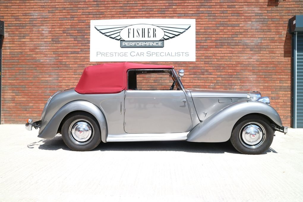 Alvis TA14 Carbodies DHC 1948 For Sale (picture 2 of 6)