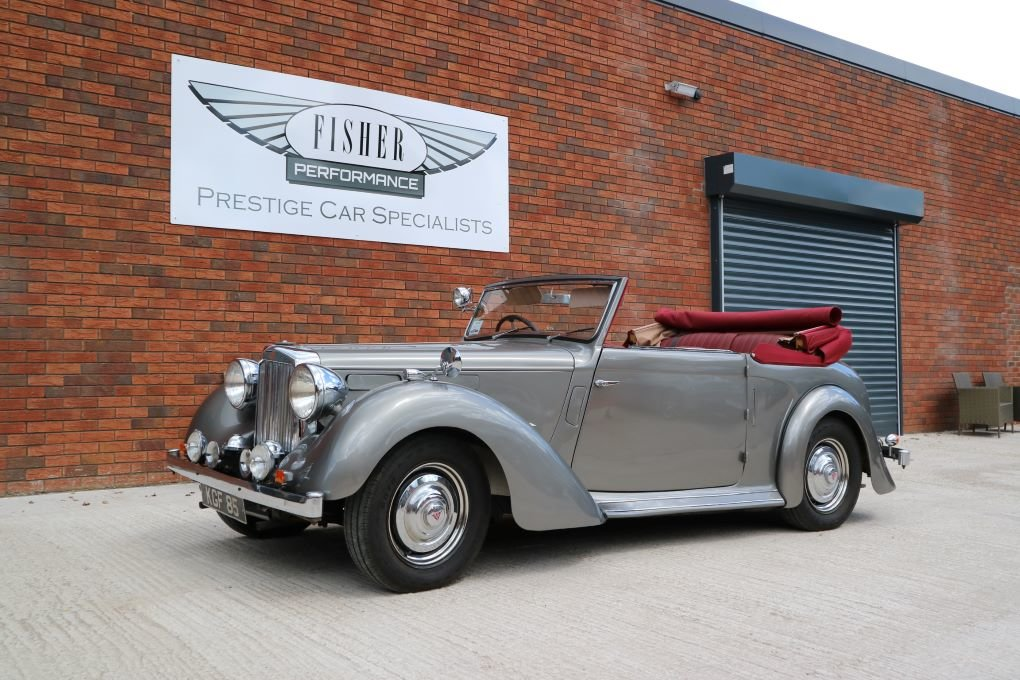 Alvis TA14 Carbodies DHC 1948 For Sale (picture 4 of 6)