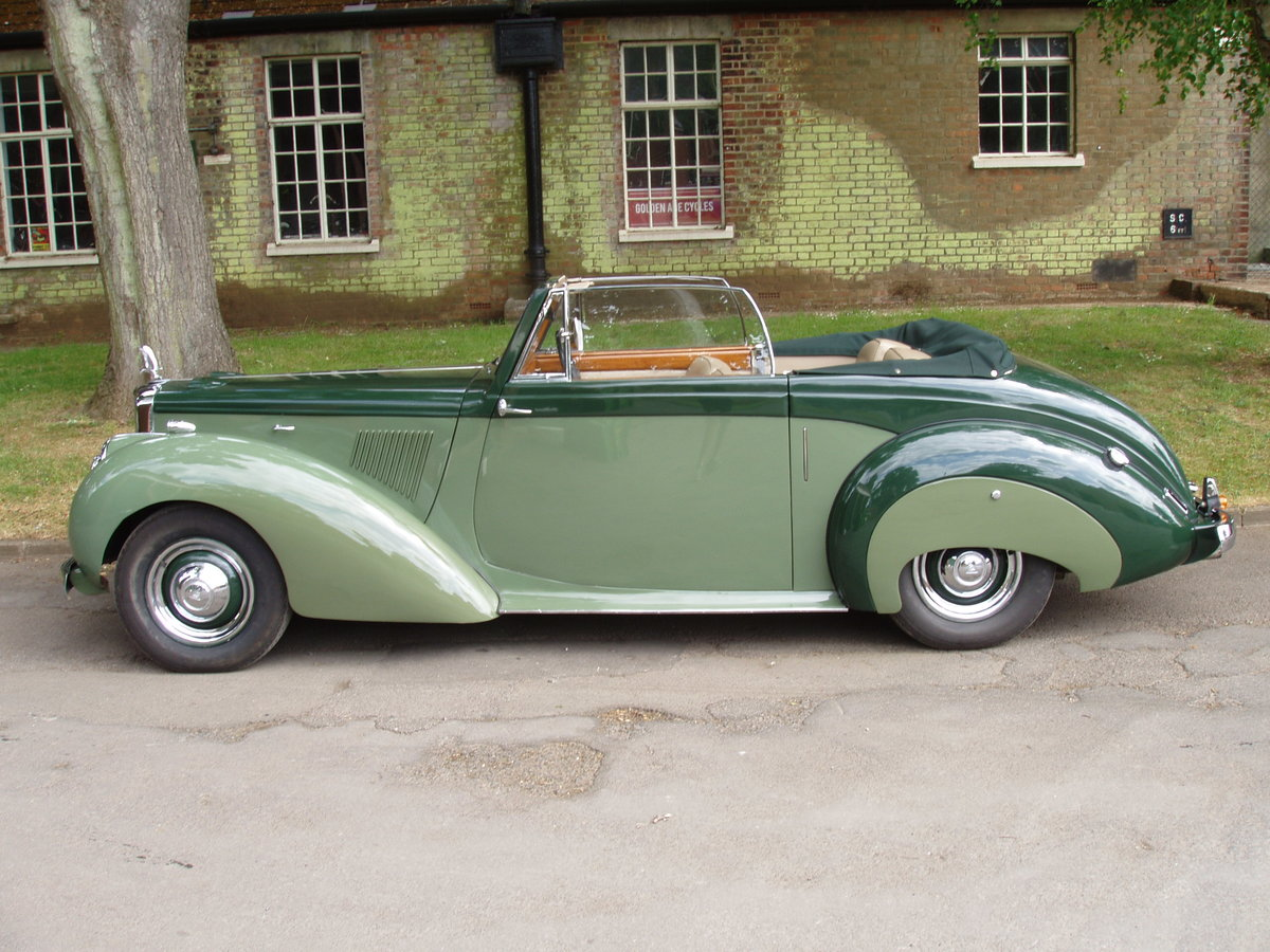 1954 Alvis TC21-100 Grey Lady Drop-head coupe For Sale (picture 1 of 6)