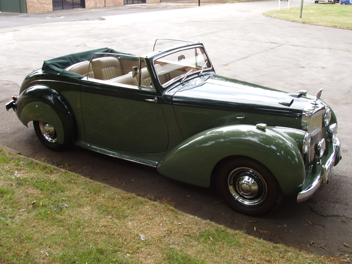 1954 Alvis TC21-100 Grey Lady Drop-head coupe For Sale (picture 2 of 6)
