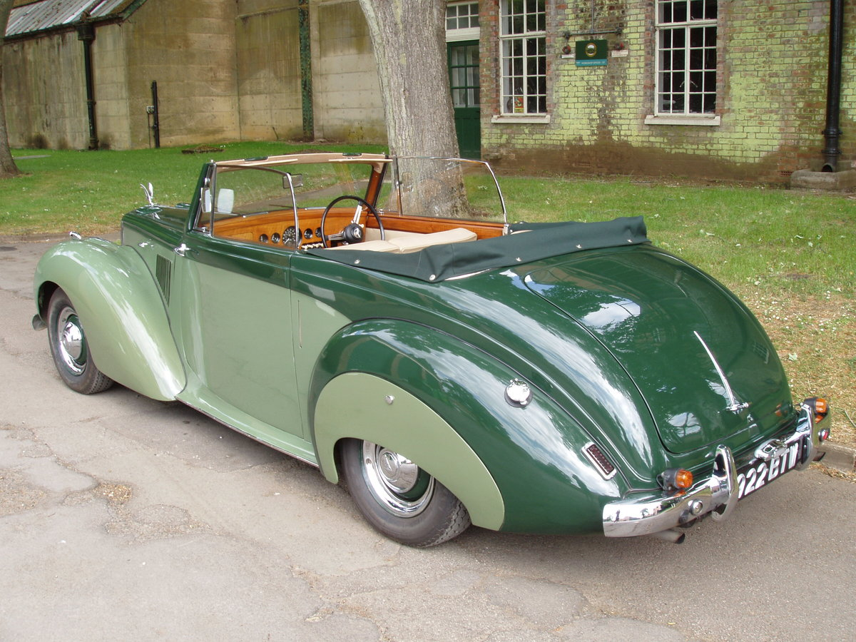 1954 Alvis TC21-100 Grey Lady Drop-head coupe For Sale (picture 3 of 6)