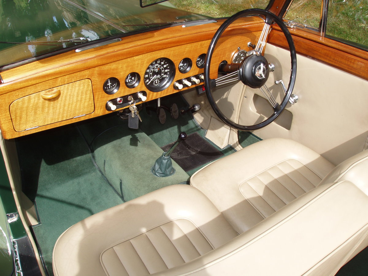 1954 Alvis TC21-100 Grey Lady Drop-head coupe For Sale (picture 5 of 6)