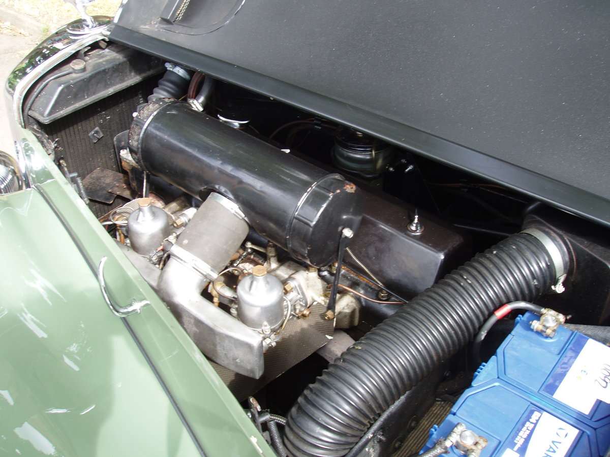 1954 Alvis TC21-100 Grey Lady Drop-head coupe For Sale (picture 6 of 6)