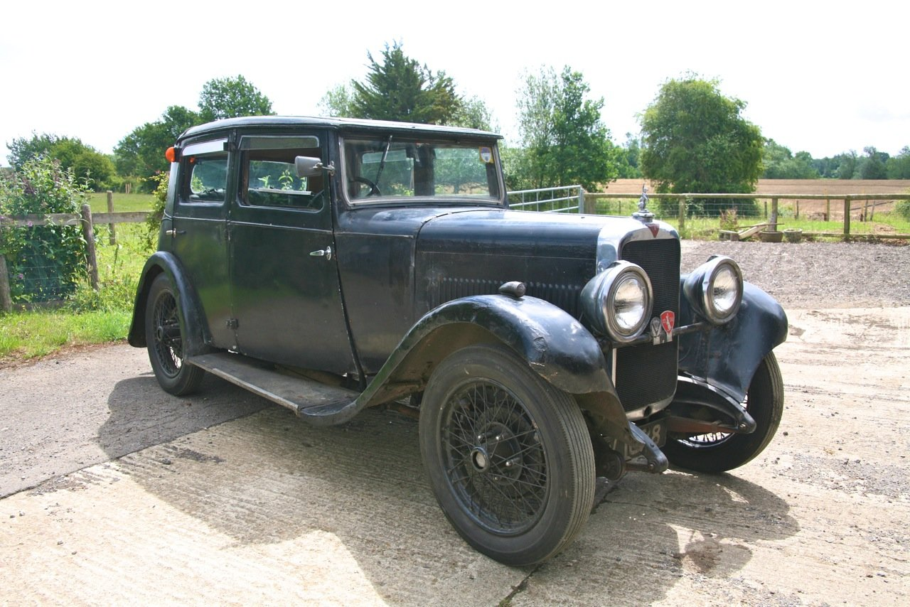 1932 Alvis 12/60 Saloon For Auction 16th - 17th July For Sale by Auction (picture 1 of 6)