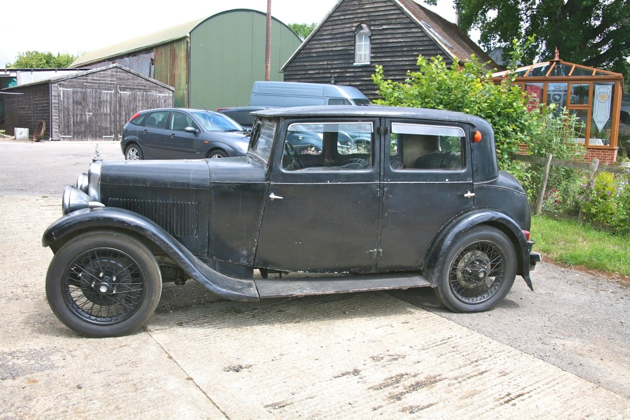 1932 Alvis 12/60 Saloon For Auction 16th - 17th July For Sale by Auction (picture 2 of 6)