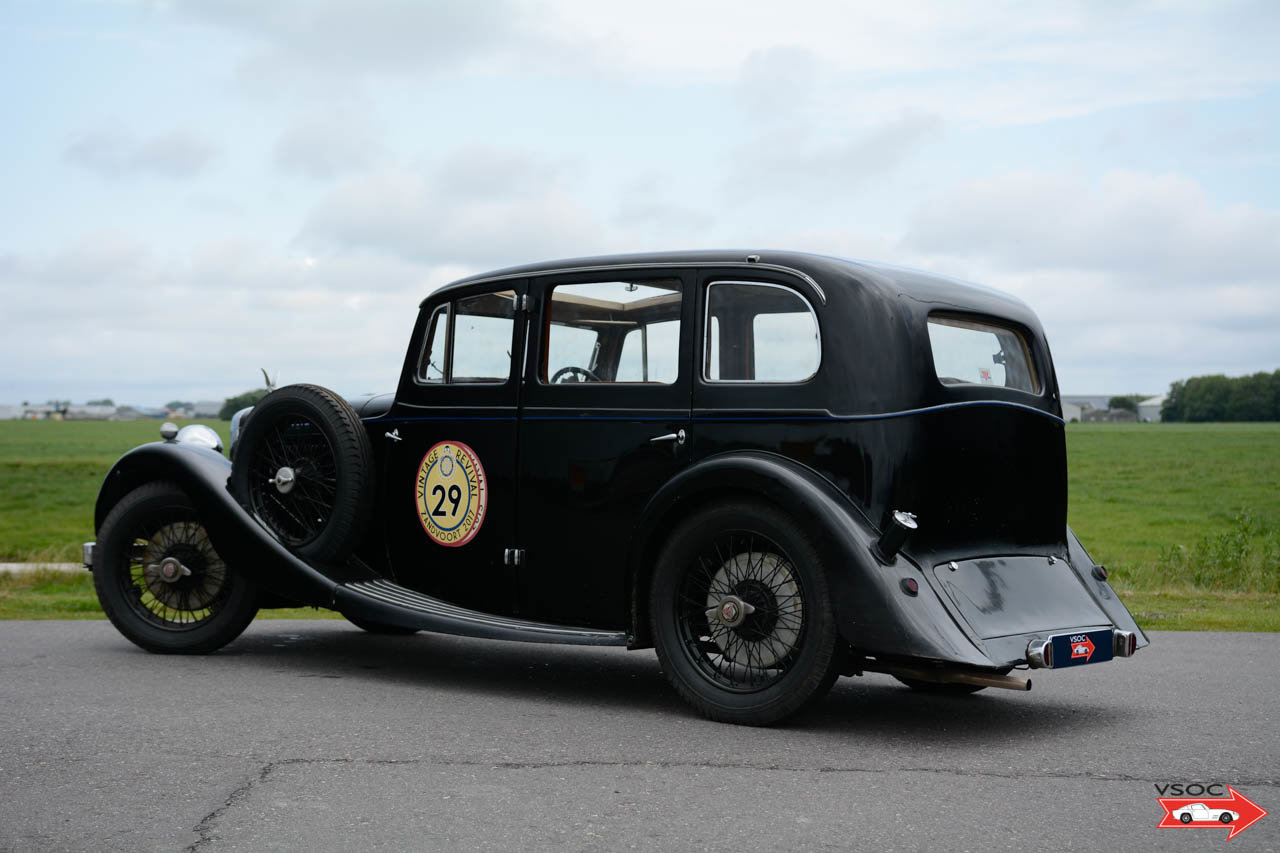 1936 Alvis Silver Eagle Six Light Royal Saloon by Cross and Ellis For Sale (picture 1 of 6)