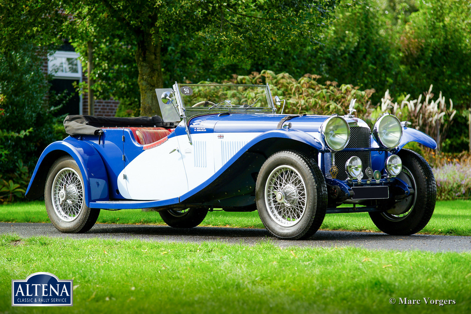 Alvis Speed 20 SA, 1933 For Sale (picture 1 of 6)
