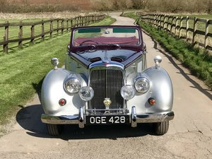 Alvis tc21 greylady tickford convertible