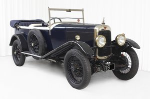 1931 TJ 12/50 4 Seater Tourer By Breese