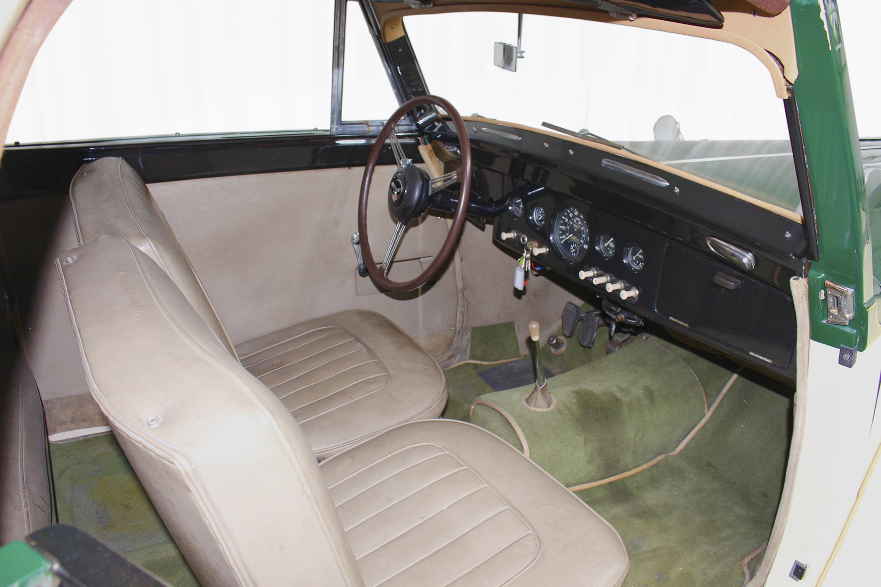 1952 TA21 DHC by Tickford in LHD For Sale (picture 5 of 6)